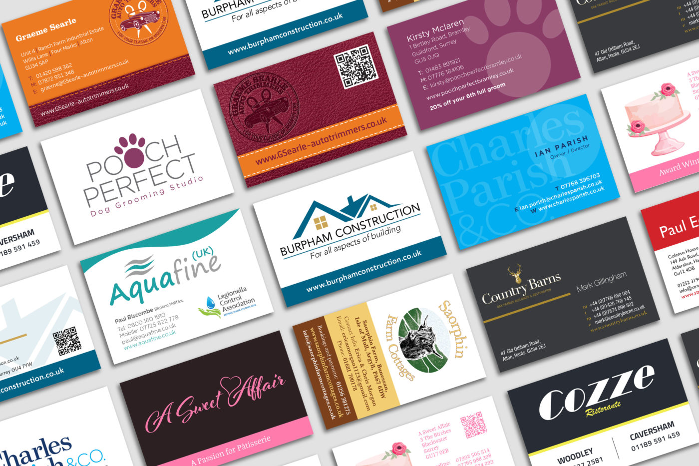 business cards  web directions  based in hampshire uk