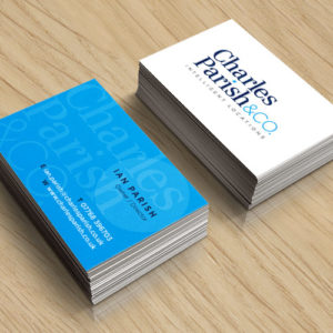 charles-parish-business-card-design-in-hampshire