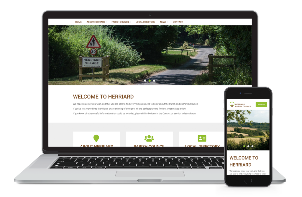 Herriard Parish Council Website