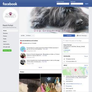 Pooch Perfect Facebook social media marketing