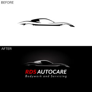 RDS autocare logo before and after