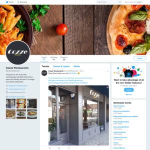 Twitter Social media branding