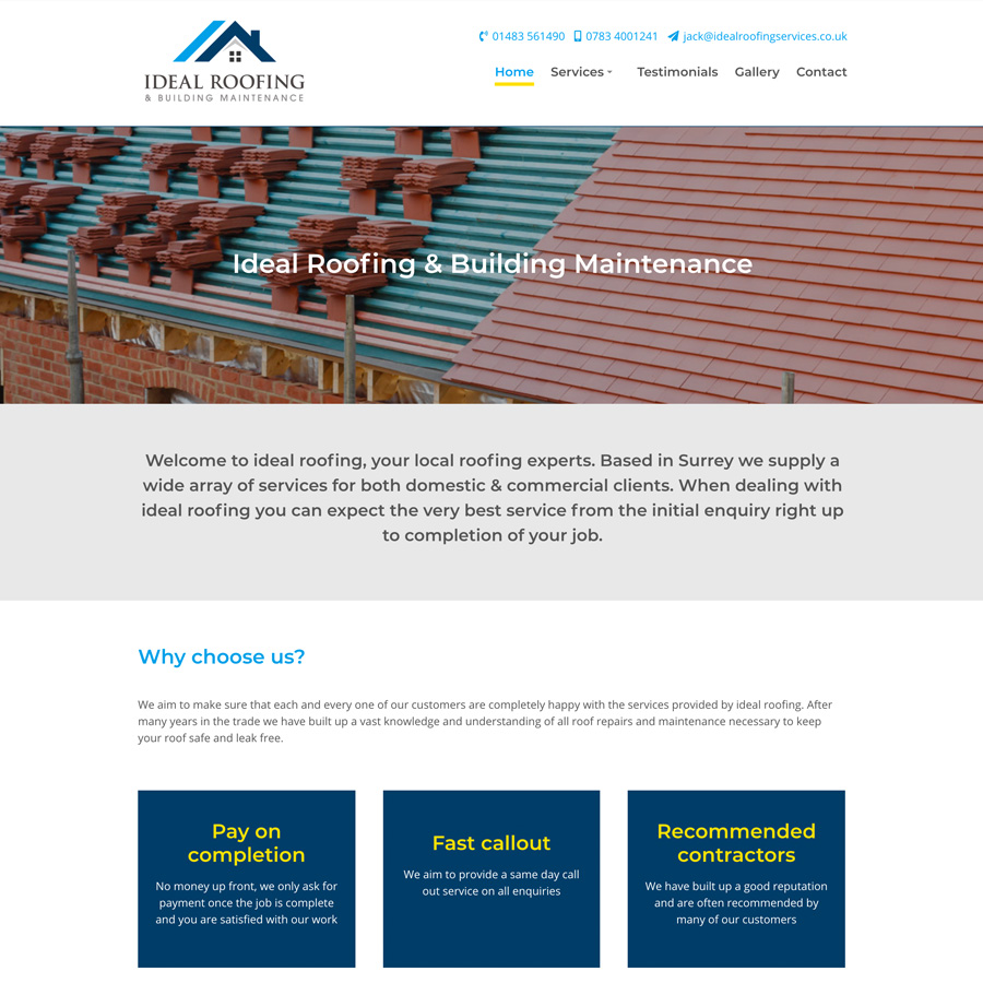 Ideal Roofing & Building Maintenance