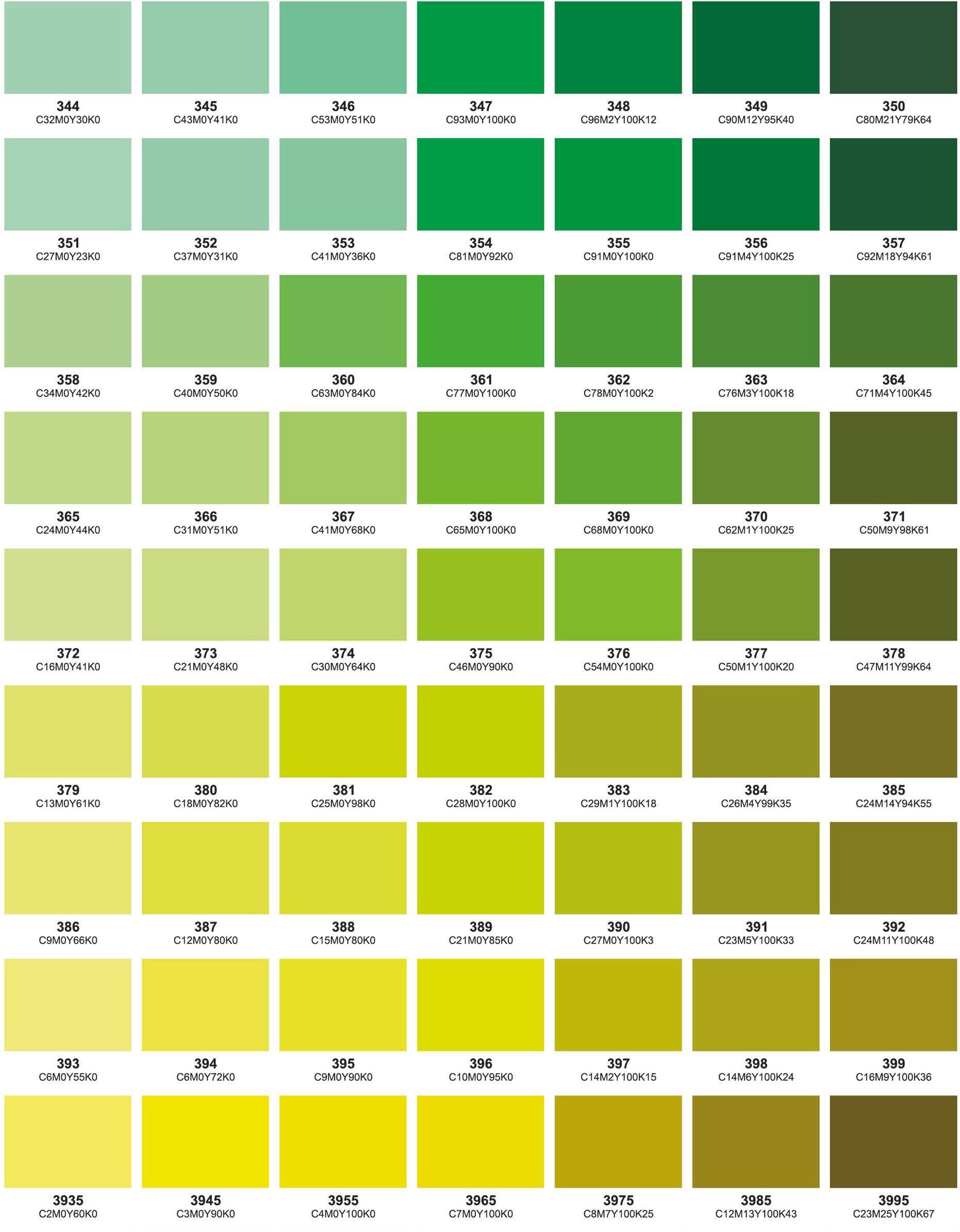 Colour chart part 8