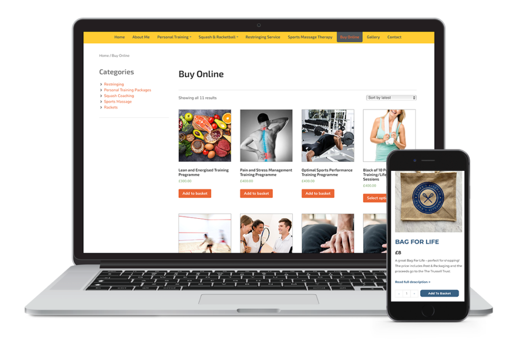 e-commerce websites Hampshire